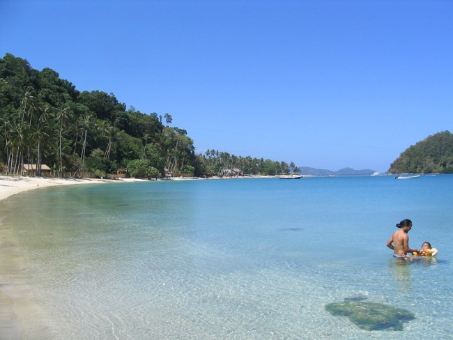 Las Cabañas Beach, El Nido