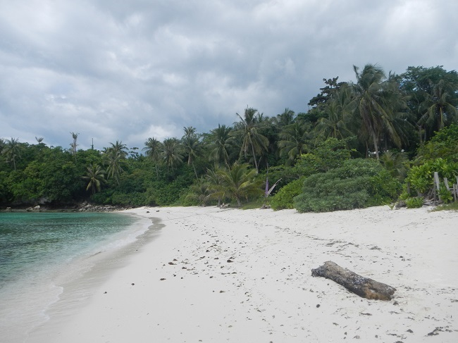 Weißer Strand vom Amun Ini Resort & Spa in Anda, Bohol