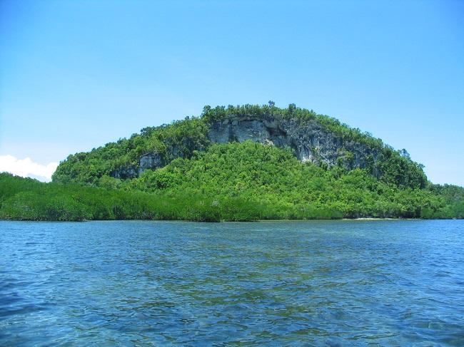 Das mystische Lamanoc Island nahe Anda, Bohol