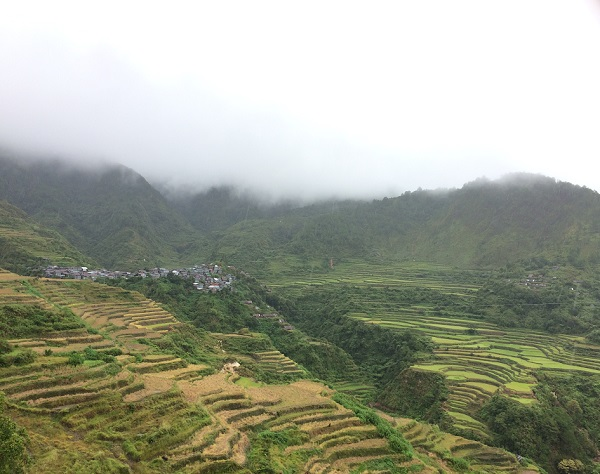 Reiseterrassen von Sagada und Bontoc