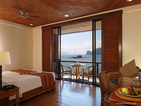 Deluxe Sea View Room, El Nido Resorts Miniloc