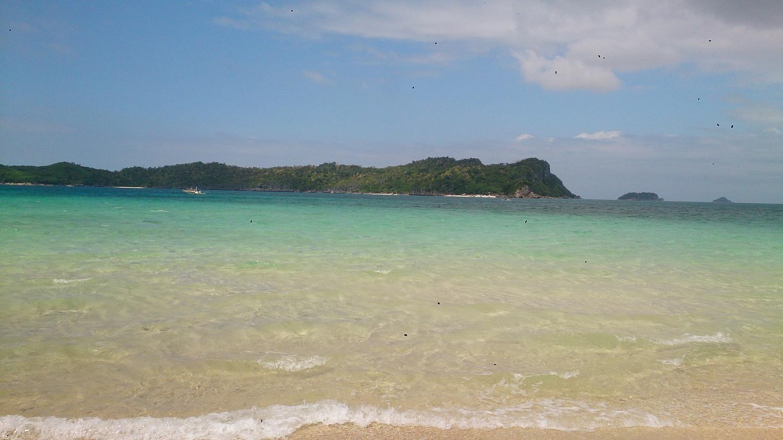 Meer um Gigantes Islands