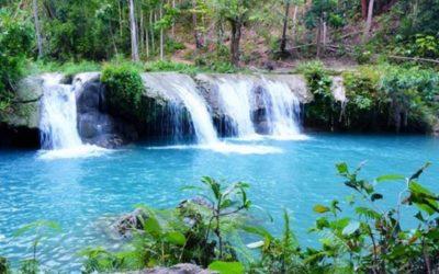 Cambugahay Falls: zum Baden einladender Wasserfall auf Siquijor Island