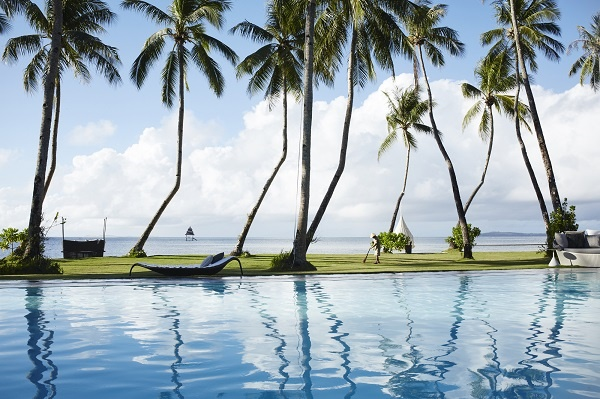 Infinity Pool, Dedon Island Resort