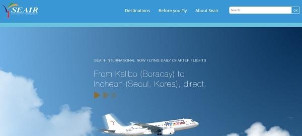 Seair Flüge von Boracay nach Seoul