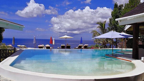 Infinity Pool, Kawayan Holiday Resort, Siquijor