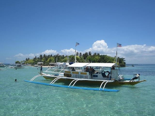 Boot vor Caohagan Island
