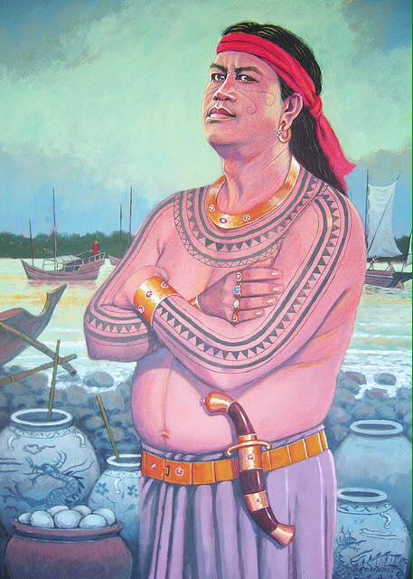 Bild des Königs von Cebu Rajah Humabon