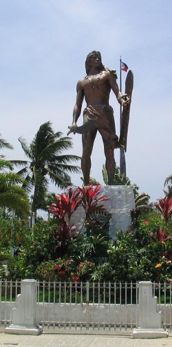 Lapu Lapu Denkmal Cebu, Mactan Island