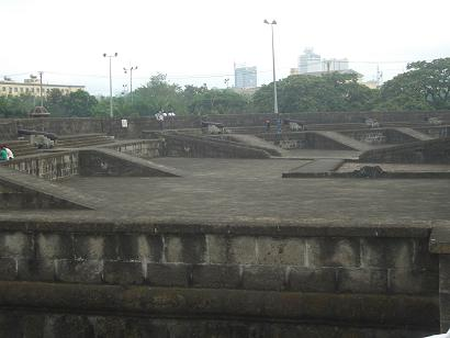 Intramuros in Manila