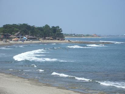 Surfing San Fernando